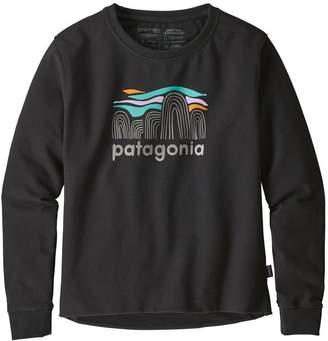 Patagonia Women's Fitz Roy Boulders Uprisal Crew Sweatshirt