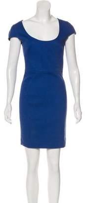 L'Agence Short Sleeve Mini Dress