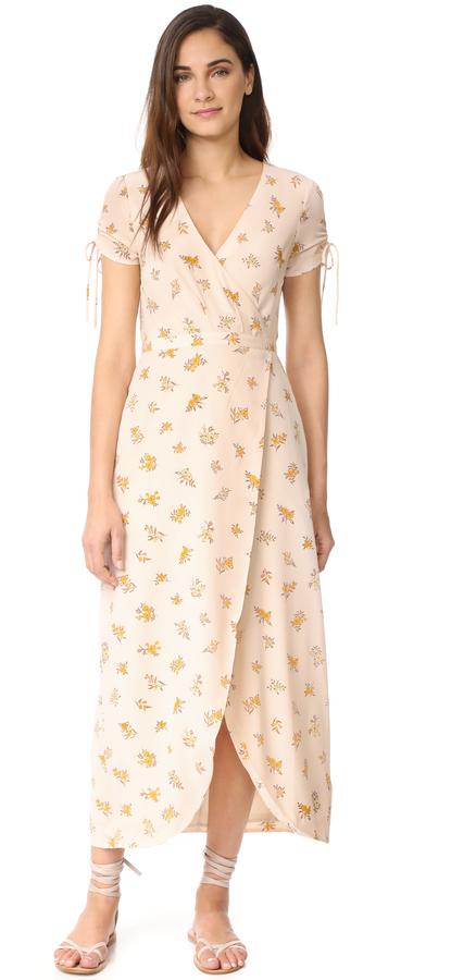 Madewell Field Bouquet Maxi Dress