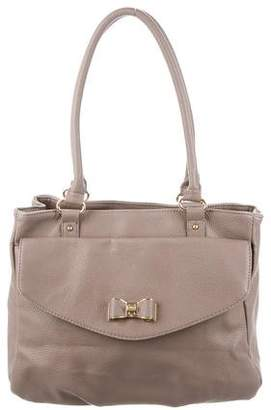 Lulu Guinness Grained Leather Tote