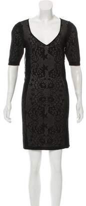 Zac Posen Z Spoke by Textured Lace Dress