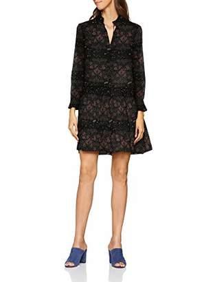 Great Plains Women's Speckled Flower Floral Long Sleeve Dress,(Manufacturer Size: M)