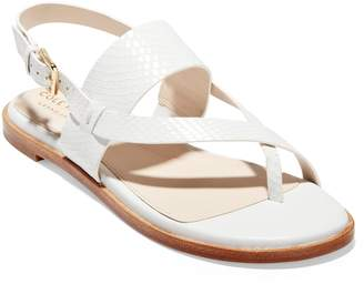 8a980a5bf716 Cole Haan White Women s Sandals - ShopStyle