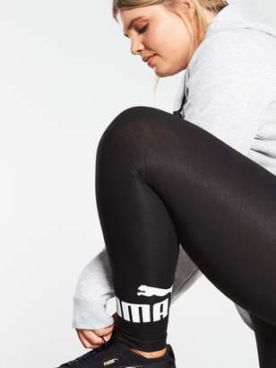 Puma Curve Essentials Logo Leggings - Black