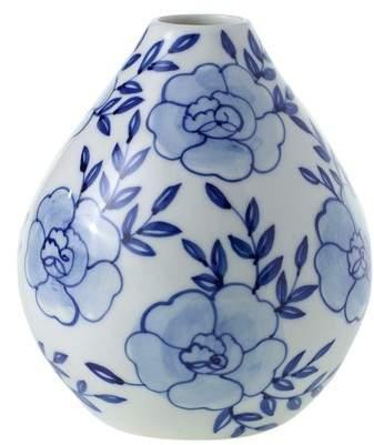 ACCENT DECOR Eleanor Hand Painted Ceramic Bud Vase