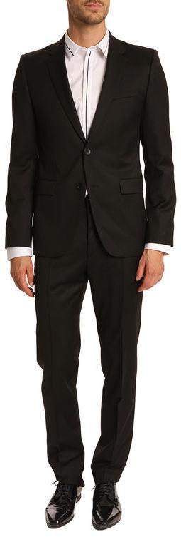 HUGO BOSS Hugo Aeron Hamen1 Black Slim Fit Suit