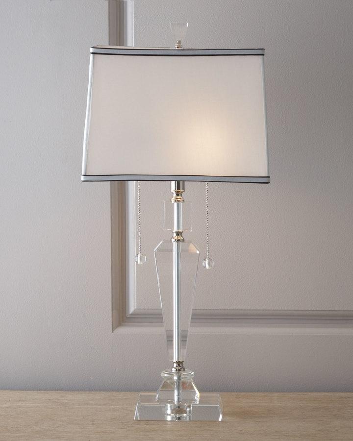 """""""Inverted Obelisk"""" Table Lamp"""
