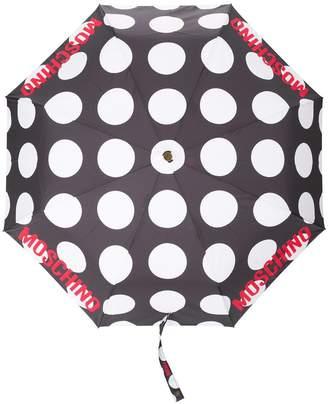 Moschino polka-dot print umbrella