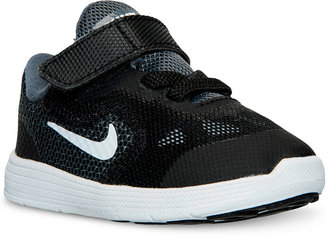 Nike Toddler Boys' Revolution 3 Running Sneakers from Finish Line $43.99 thestylecure.com