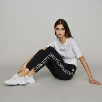 Maje Jogging pants with elastic waist