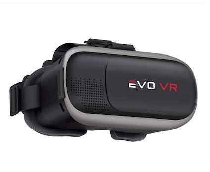 Merkury Innovations EVO Shine Virtual Reality Headset - Black/Space Grey