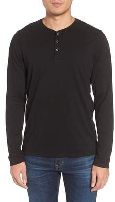 AG Jeans Clyde Slim Fit Long Sleeve Henley