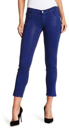 J Brand Hipster Low Rise Coated Jeans