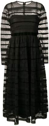RED Valentino striped tulle dress