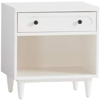 Pottery Barn Teen Landry Bedside, Simply White, EXEL