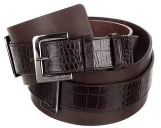 Max Mara Leather Waist Belt w/ Tags Brown Leather Waist Belt w/ Tags