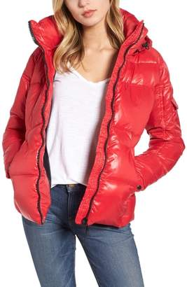 S13 Kylie Down & Feather Puffer Jacket