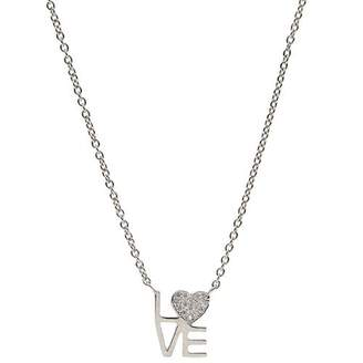 Love Squared JEN HANSEN Necklace White - Sterling Silver