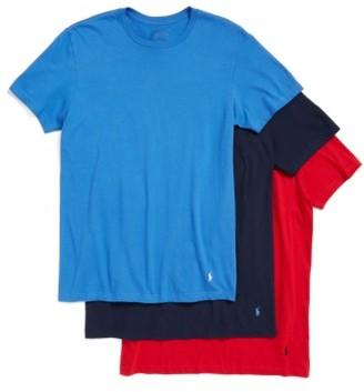 Men's Polo Ralph Lauren 3-Pack Crewneck T-Shirts $39.50 thestylecure.com