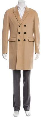 Burberry Cashmere Double-Breasted Coat beige Cashmere Double-Breasted Coat