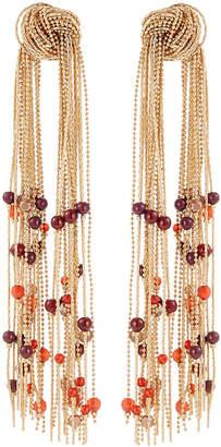 Lydell NYC Double Tassel Earrings