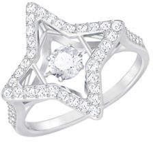 Swarovski Sparkling Dance Star Cocktail Ring