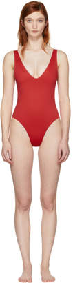 Her Line SSENSE Exclusive Red Ester One-Piece Swimsuit
