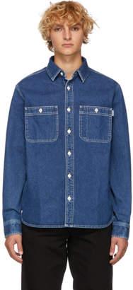 Carhartt Work In Progress Blue Barlow Shirt