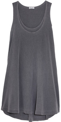 Splendid - Cotton-jersey Tank Dress - Gray $140 thestylecure.com