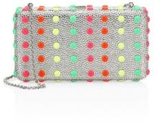 Judith Leiber Crystal Dot Candy Airstream Clutch $3,395 thestylecure.com