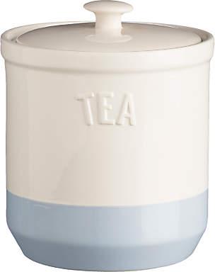 Mason Cash Bakewell Tea Jar, Cream/Blue