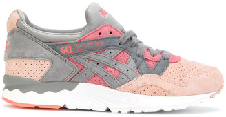 Asics contrast lace up trainers $137.87 thestylecure.com