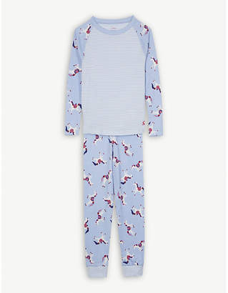 Joules Cotton-blend pyjamas 4-12 years