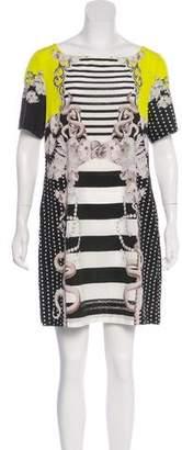 Emma Cook Silk Blend Mini Dress