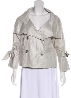 Charles Chang-Lima Long Sleeve Button-Up Jacket