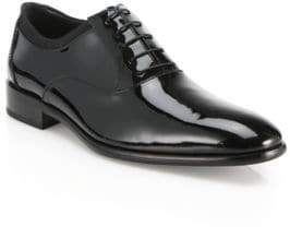 Salvatore Ferragamo Aiden Patent Leather Oxfords