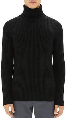 Theory Bendas Merino-Wool Turtleneck Sweater