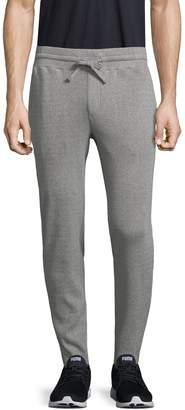 Theory Men's Plaited Rib Lounge Cotton Pants