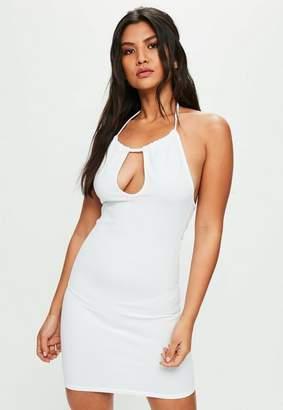 Missguided White Mini Dress