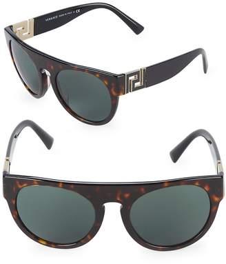 Versace Women's 55MM Round Sunglasses