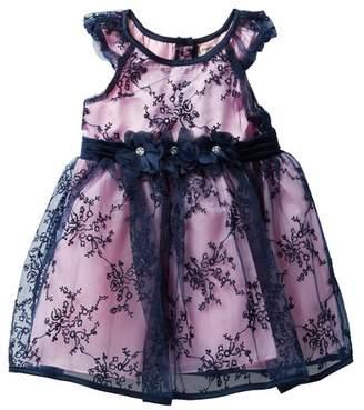 Nanette Lepore Embroidered Mesh Dress (Baby Girls)