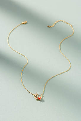Anthropologie Flora Wreath Pendant Necklace