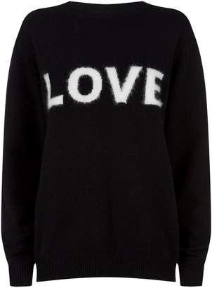 Fuzzy Love Sweater