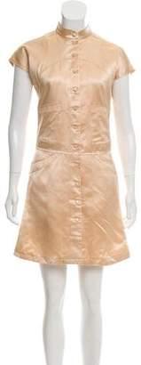 Prada Silk Button-Up Dress