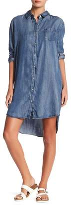 Love Stitch Relaxed Fit Chambray Shirt Dress