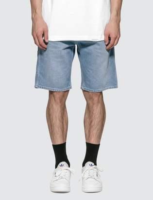Carhartt Work In Progress Ruck Single Knee Denim Shorts