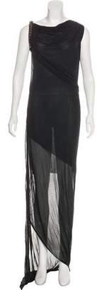 Jean Paul Gaultier Soleil Sleeveless Maxi Dress w/ Tags