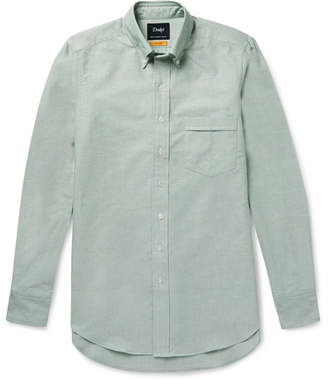 Drakes Drake's Easyday Slim-Fit Button-Down Collar Cotton Oxford Shirt