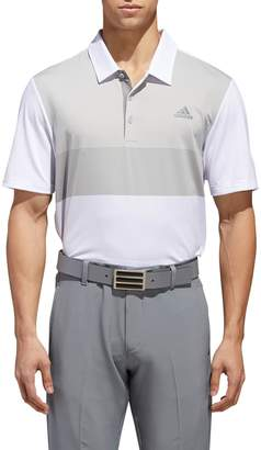 adidas Ultimate Colorblock Polo