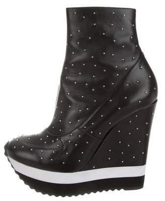 Ruthie Davis Nicki Studded Ankle Boots